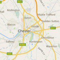 Google map image of Chester